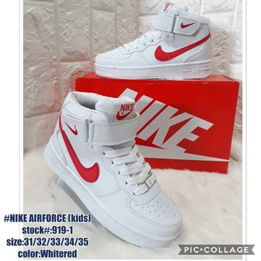 buena textura nuevo baratas mayor descuento SHOES FOR KIDS - NIKE HIGH CUT SHOES | Shopee Philippines