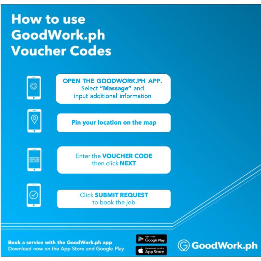GoodWork 1hr Massage Service ₱349 | Shopee Philippines