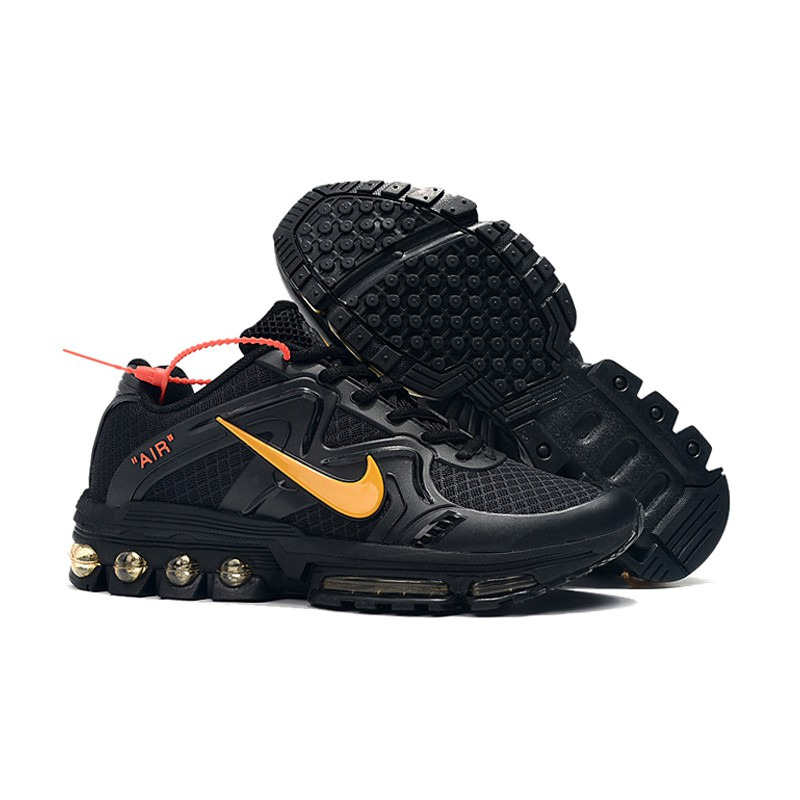 Nike Air Max 2019 rambler Sports Running Shoes for Mens black gold Fashion Outdoors Sneakers