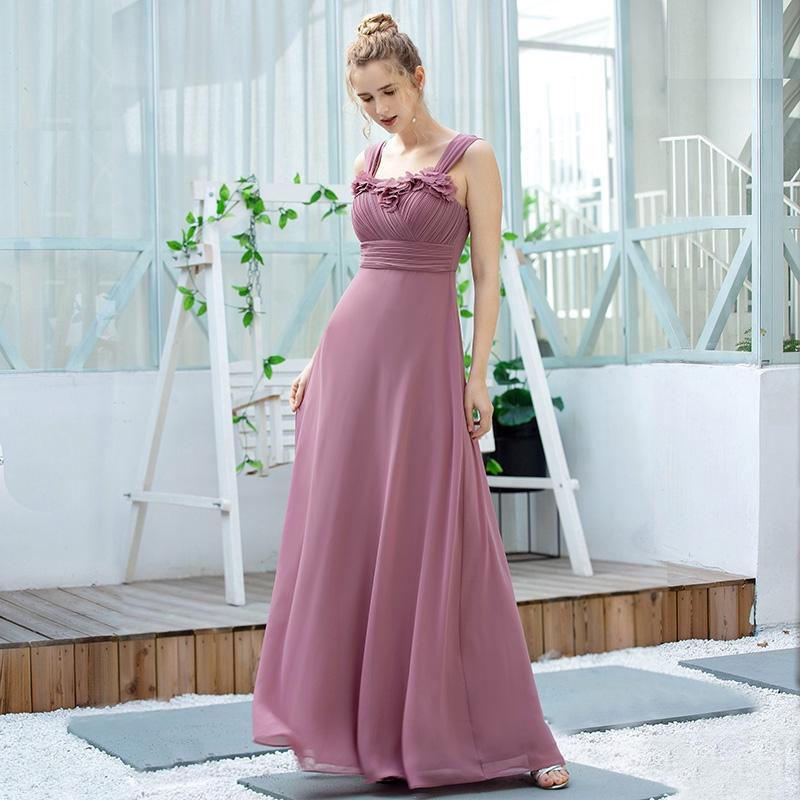 Formal Cocktail & Party Dress Sweet Chiffon Women Long ...