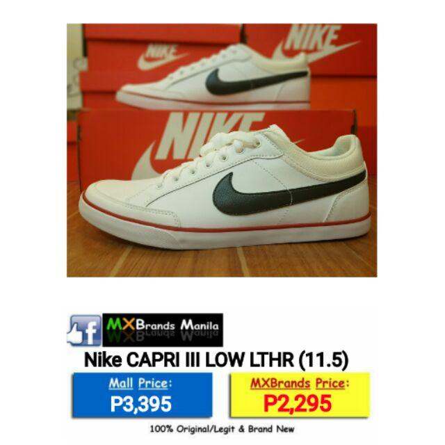 Canguro liebre inundar  Nike Capri III Low Lthr | Shopee Philippines