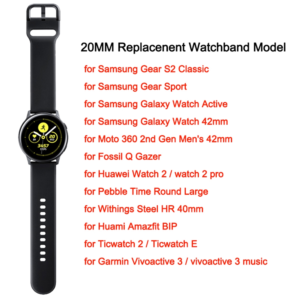 Watch Band For Samsung Galaxy Watch Active 42mm | Shopee
