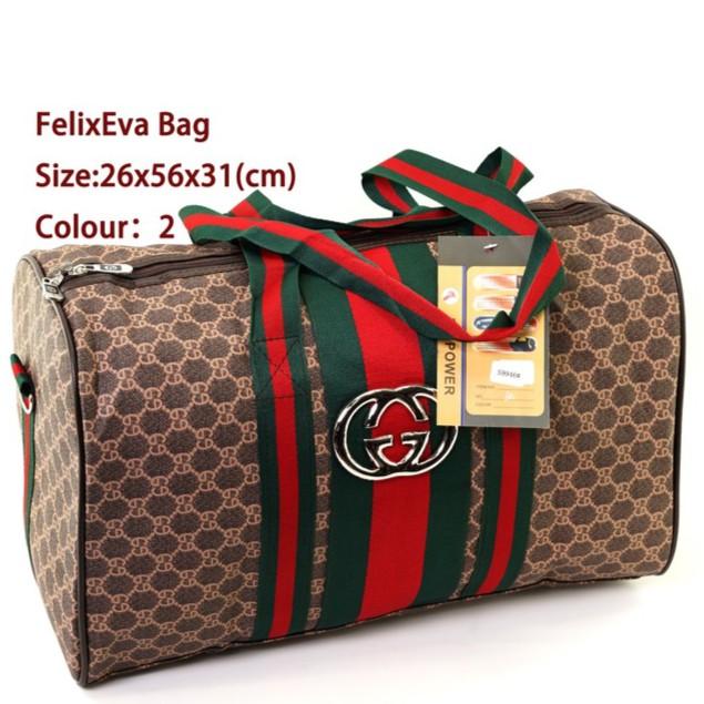 64888cf12f53 Travel Leather Bucket Bag Travel Bag Size:L