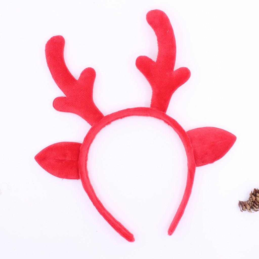 a1f12f6c437ee Christmas Headbands Hat Fancy Dress Hat Reindeer Antlers