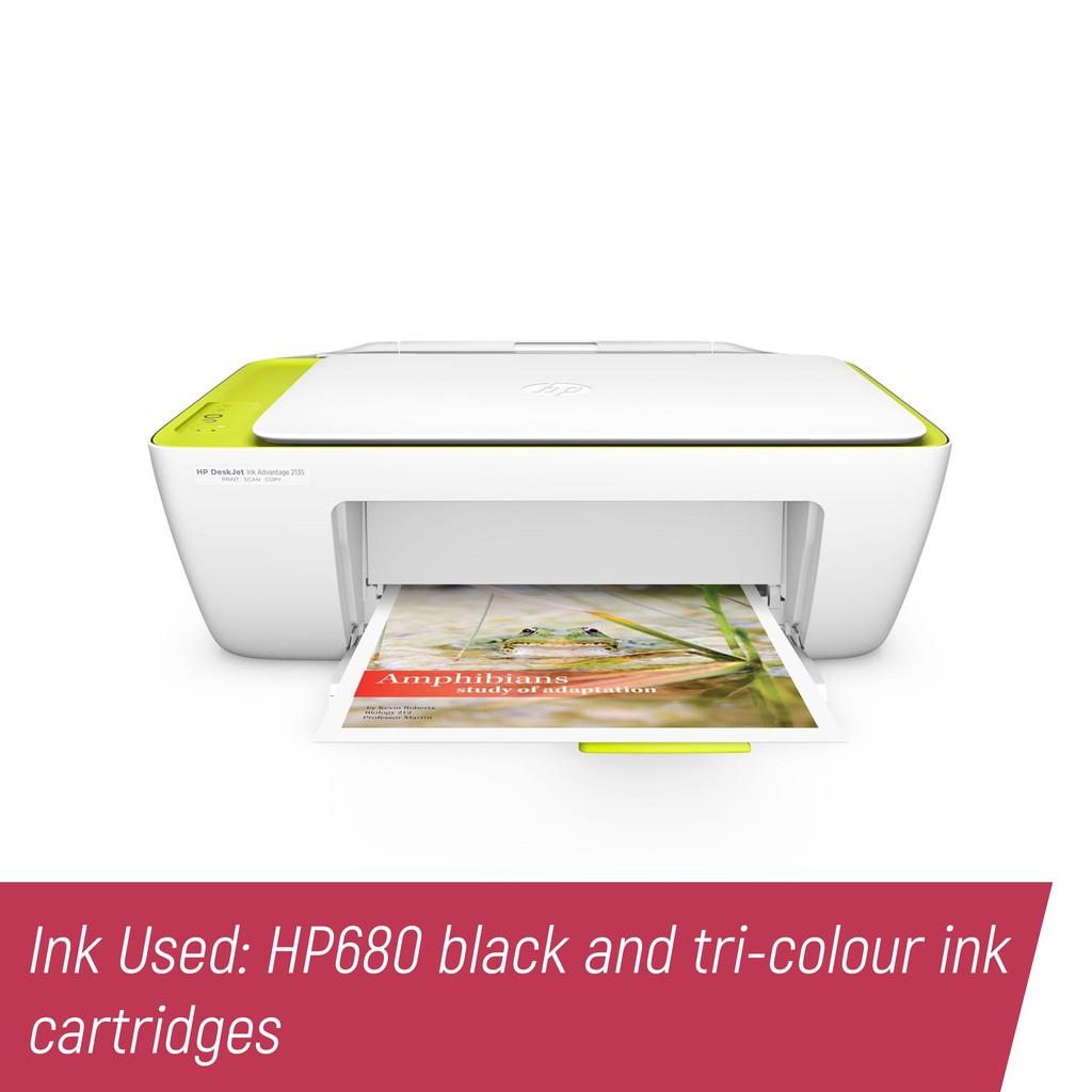 Hp 680 Tri Color Ink Cartridge Shopee Philippines Original Advantage