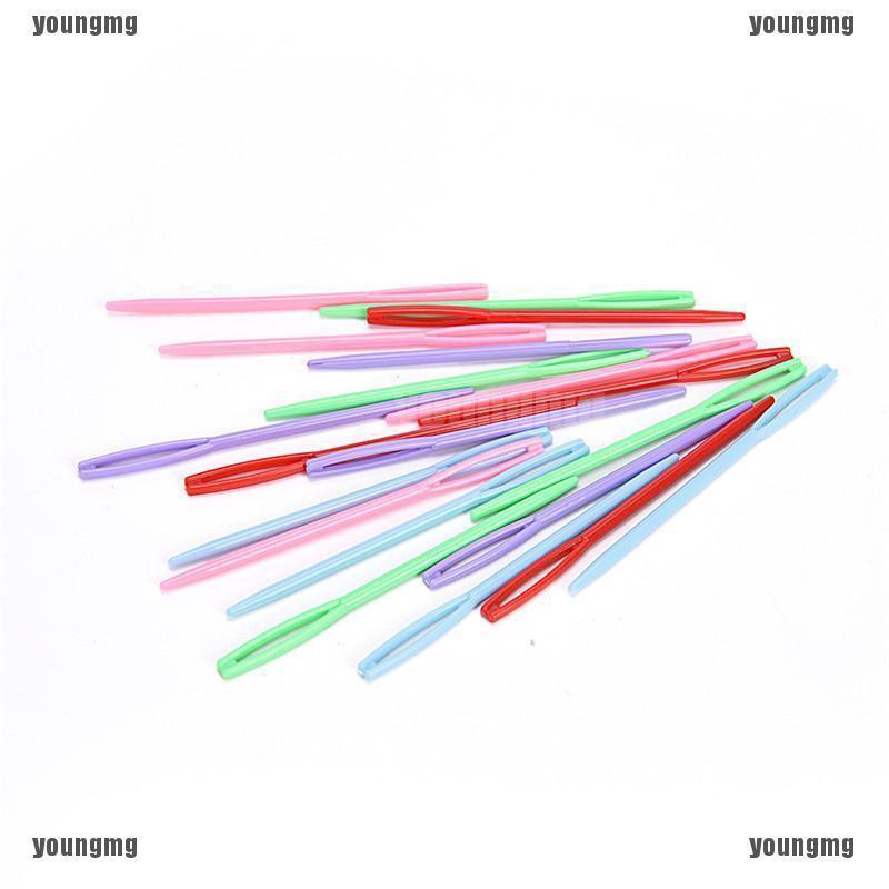 20Pcs Plastic Weave Sewing Knitting Tool Cross Stitch Kid Knit Needle Craft new.