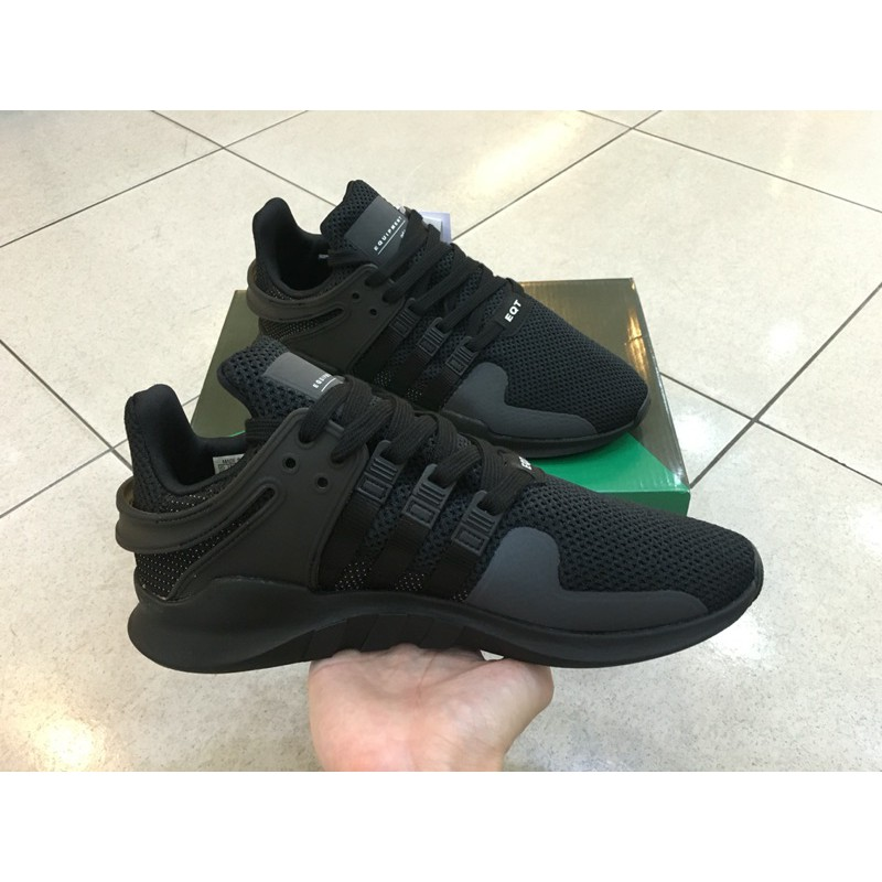 Adidas EQT Support ADV Running Men Sports Shoes Triple Black