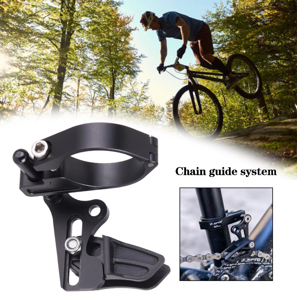 Mountain Bike Bicycle Chain Guide Protector Chain Drop Catcher Aluminum Alloy