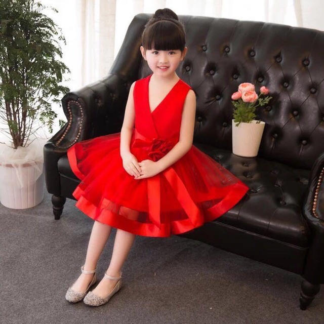 Purchase your red dress for kids | Shop