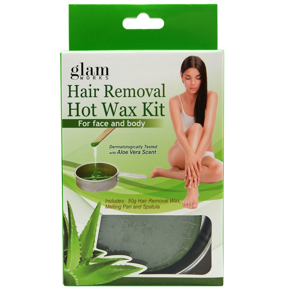 Glamworks Hair Removal Hot Wax Kit Shopee Philippines