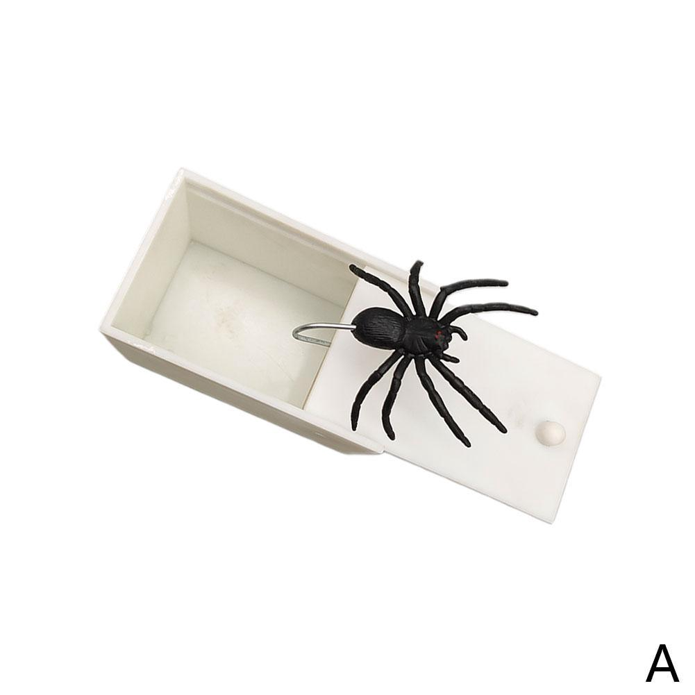 5Pcs Flexible Plastic Simulation Spiders Black Joke Prank Toy Halloween Gifts DS