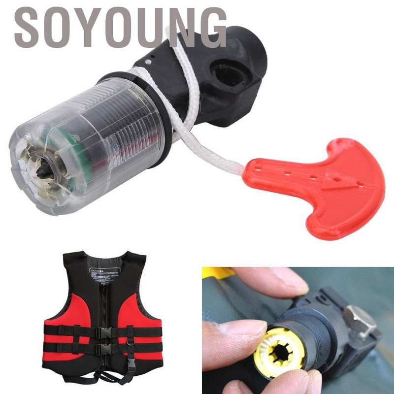 Portable Automatic Inflator Pump Device with Pills for Inflatable Life Jacket