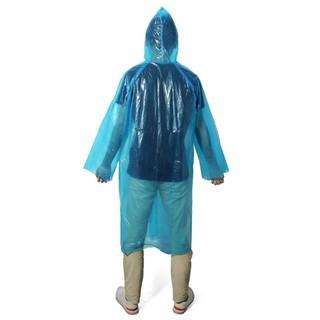 hot-selling authentic shop Buy Authentic Ew2pcs Fieldwork Travel Disposable Plastic Raincoat Poncho Rain Gear