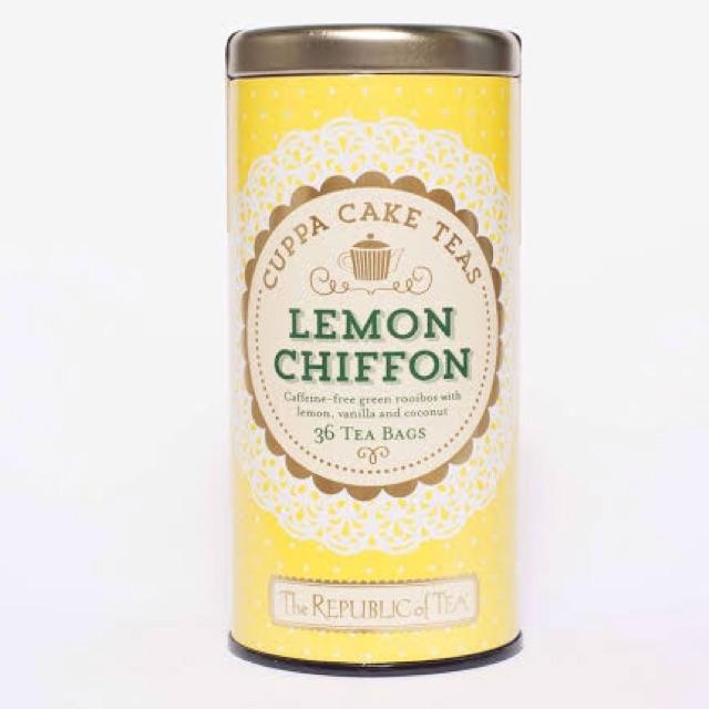 The Republic Of Tea Cuppa Cake Teas Lemon Chiffon 36 Tbs Shopee Philippines