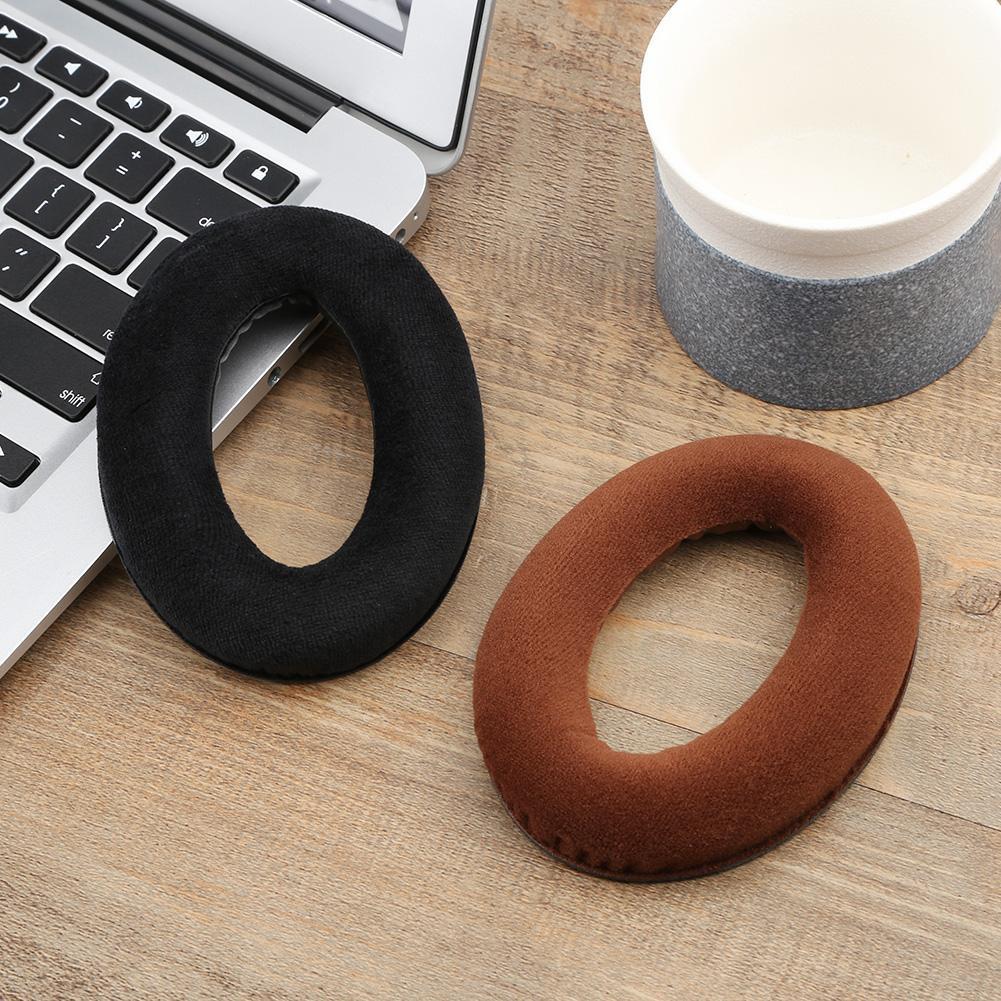 2pcs Replacement Ear Pads Earmuffs Cushion for Sennheiser HD598 Headphones