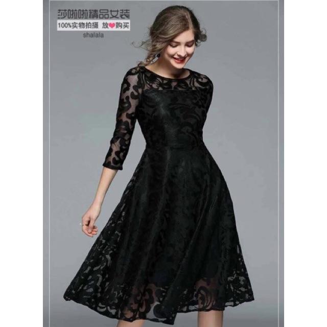Elegant Lace Formal Dress