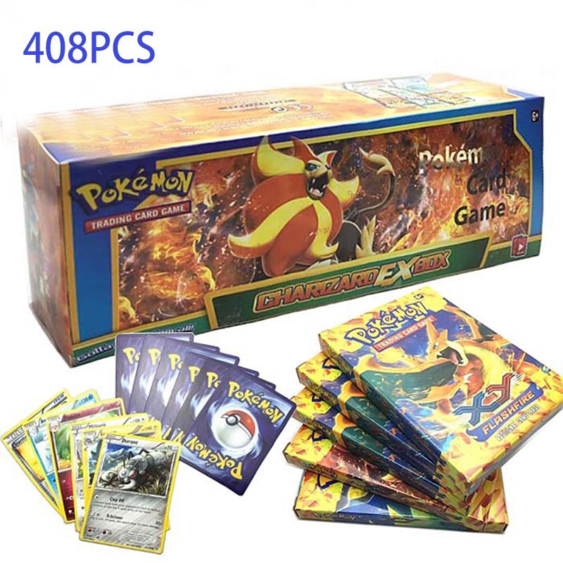 408pcs Pokémon Card PokeMon English Card