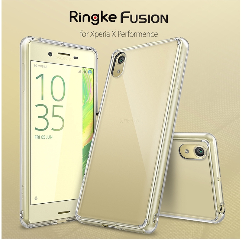 official photos e6dce c7c1f Ringke Fusion Sony Xperia X Anti-fall Case