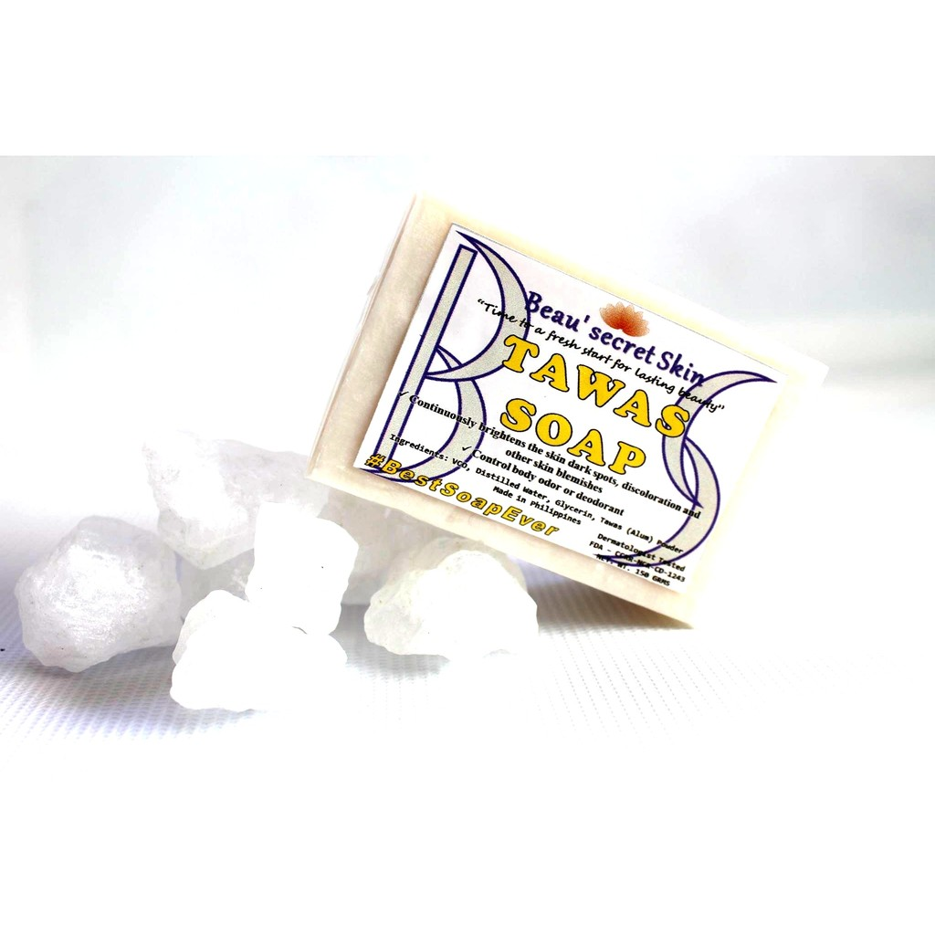 Tawas Deodorizing Soap with Whitening (Alum Soap)