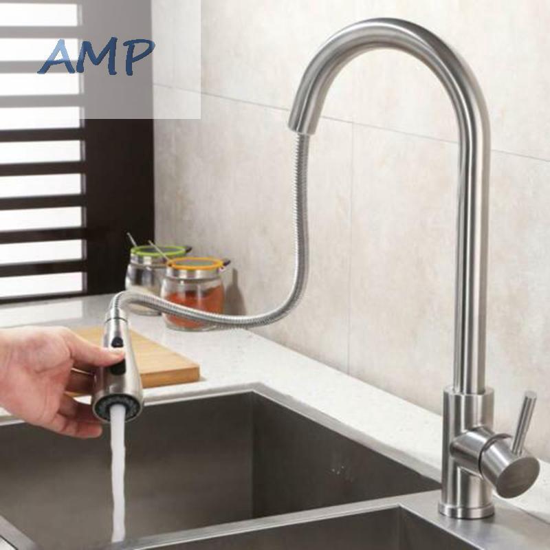 Pull Down Bathroom Kitchen Sink Pumping Faucet Shower Head G1//2 Sprayer Nozzle