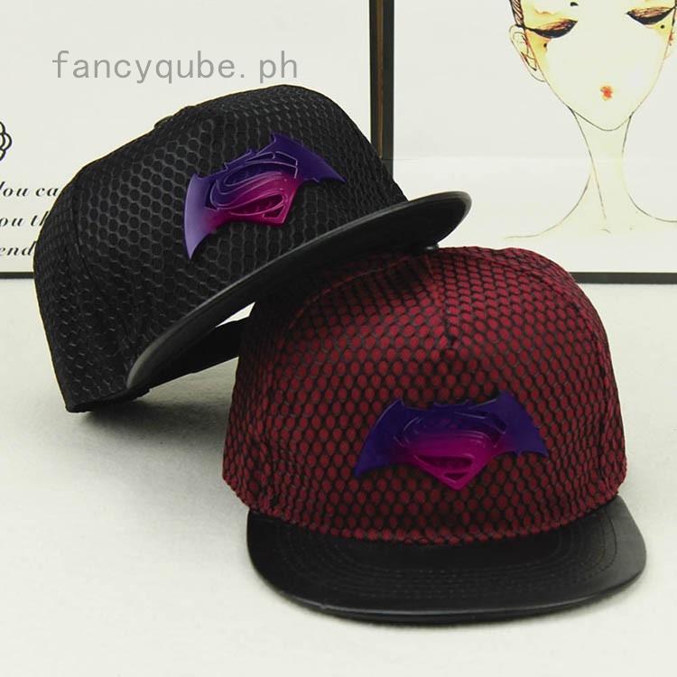 42db44a50 Batman War Superman Hat S Gradient Color Iron Baseball Caps Cap Hip-Hop Hats