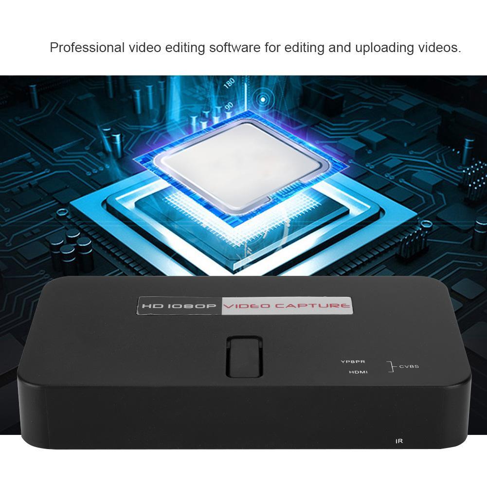 HDMI 1080P Control Recorder Video TV Capture Game Remote