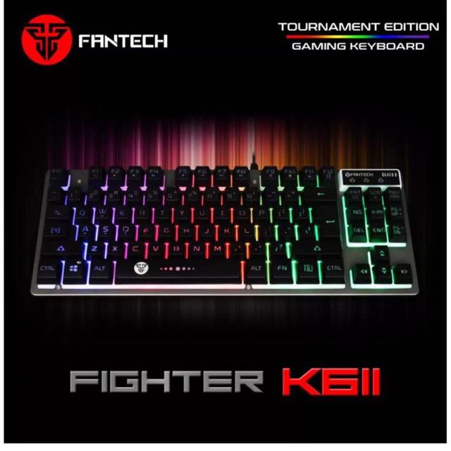 d65662b4120 💯K611 Fighter Fantech RGB Backlit Full Keys Gaming Keyboard   Shopee  Philippines
