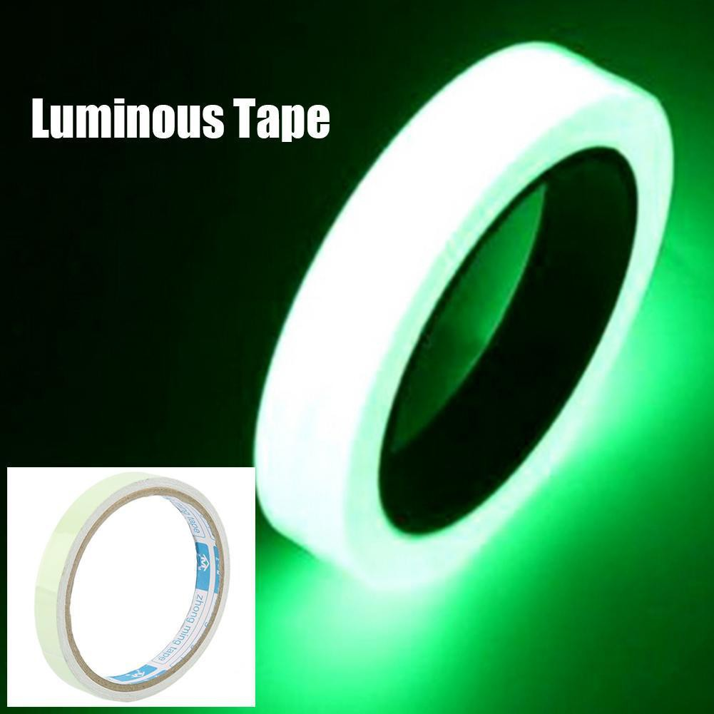Reflective Material Kind-Hearted 10m*10mm Reflective Tape Glow In The Dark Tape Self-adhesive Night Vision Luminous Tapes Warning Tape Stickers For Games Stage