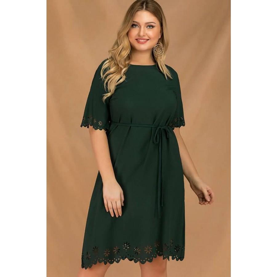 Dark Green Plus Size Dresses