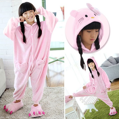a505be04a HELLO KITTY ADULT ONESIE
