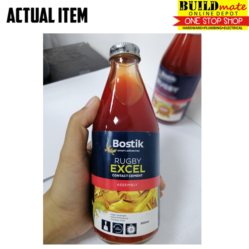 Bostik Rugby Excel Contact Cement 300ml Shopee Philippines