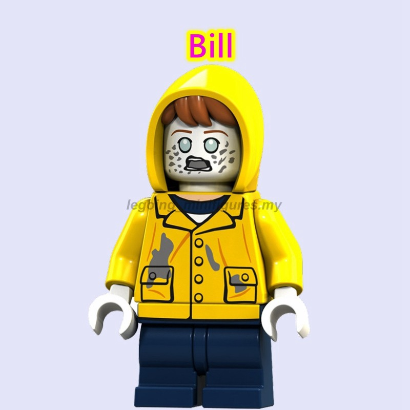 Stephen King Compatibili Minifigures New old Version Simil LEGO IT Pennywise