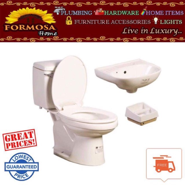 Astonishing Toilet Bowl Set Watercloset Lavatory Soap Tissue Holder Squirreltailoven Fun Painted Chair Ideas Images Squirreltailovenorg