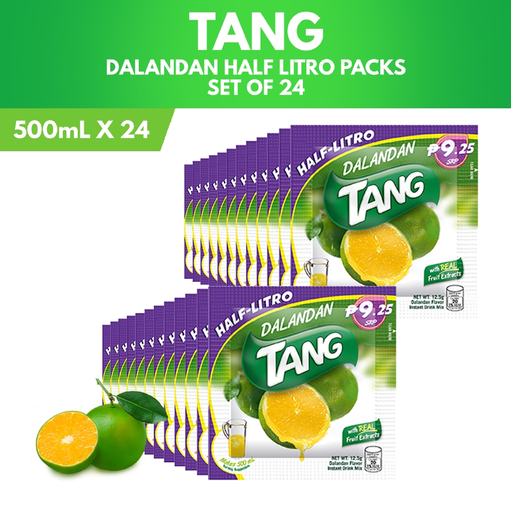 cheap for discount 2dbea ec8e9 Tang Dalandan 500mL Half-Litro Packs (Set of 24)