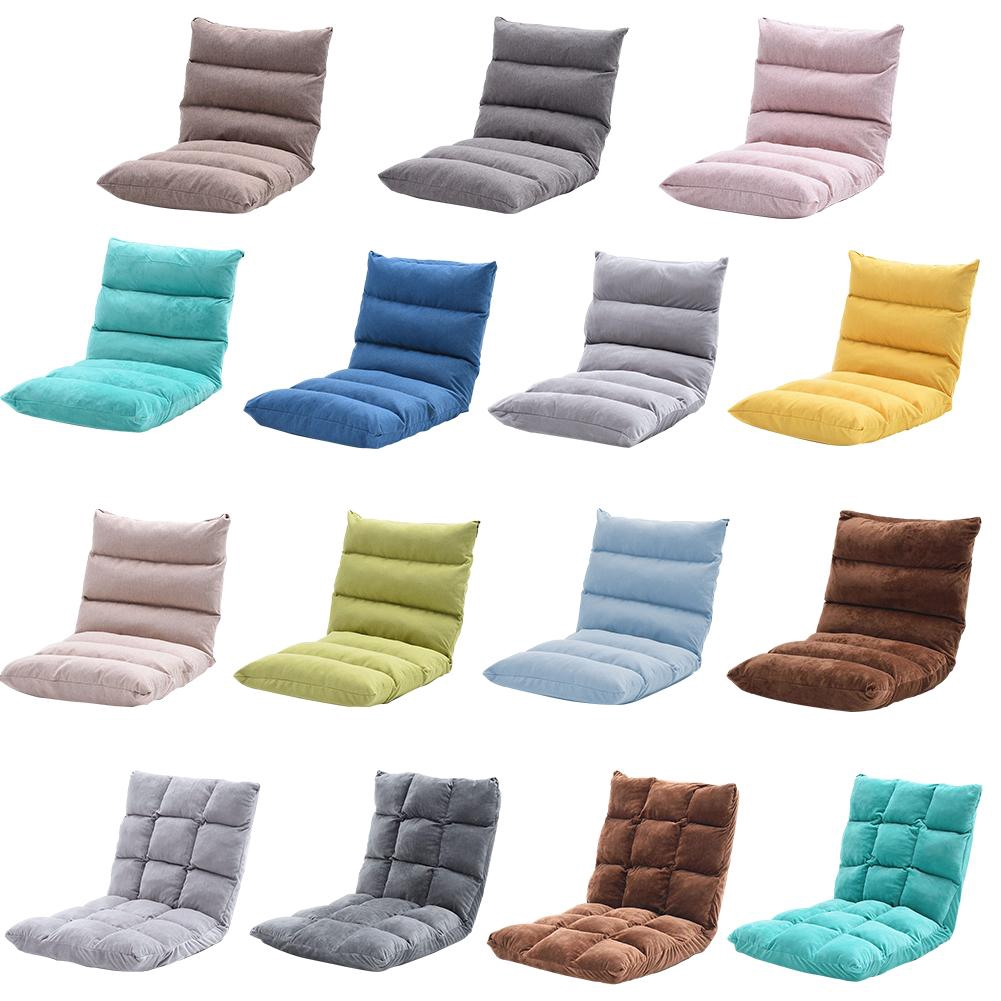 Cinglen Ph Floor Gaming Sofa Chair Folding Padded Lounger Cushion Sleeper Bed Couch Lazy Soft Recliner With Back Support For Reading Video Watching Shopee Philippines