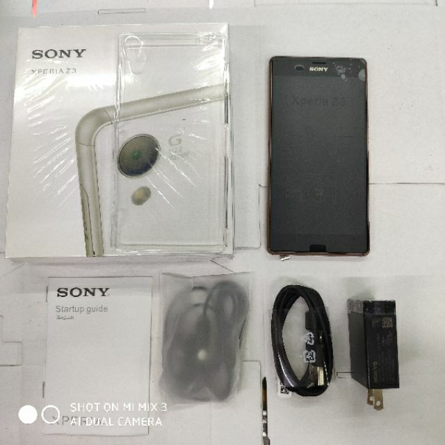 Original Sony Z3/D6603 32GB ROM Smart Phone Free Case Temperglass
