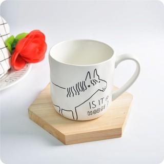 ღgb Kcasa Cartoon Animals Ceramic Milk Cup Coffee Mug Tea Gl