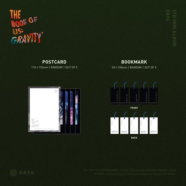 DAY 6 'The Book of Us: Gravity' 5th Mini Album [Pre-Order