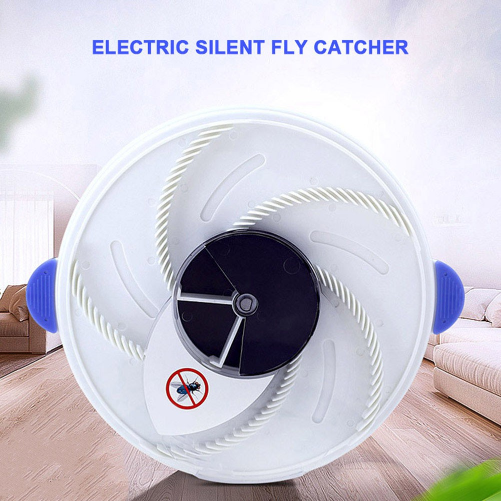 Electric Flycatcher Automatic Fly Trap Pest Control Catcher Plug Type  Mosquito Insect Killer