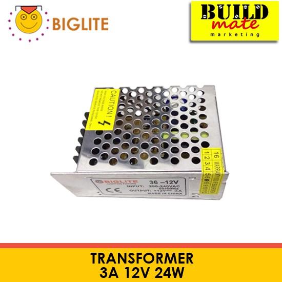BIGLITE 12V Transformer Power Supply 3A, 5A, 10A