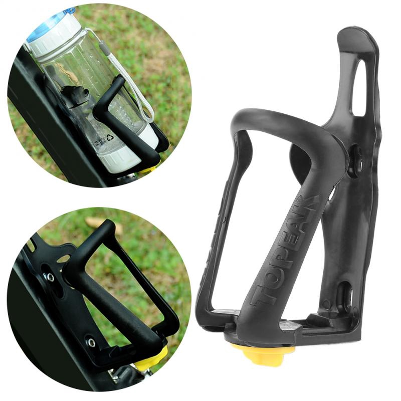 New Cycling Bicycle Bike Glass Fiber Plastic Water Bottle Holder Cages Rack well