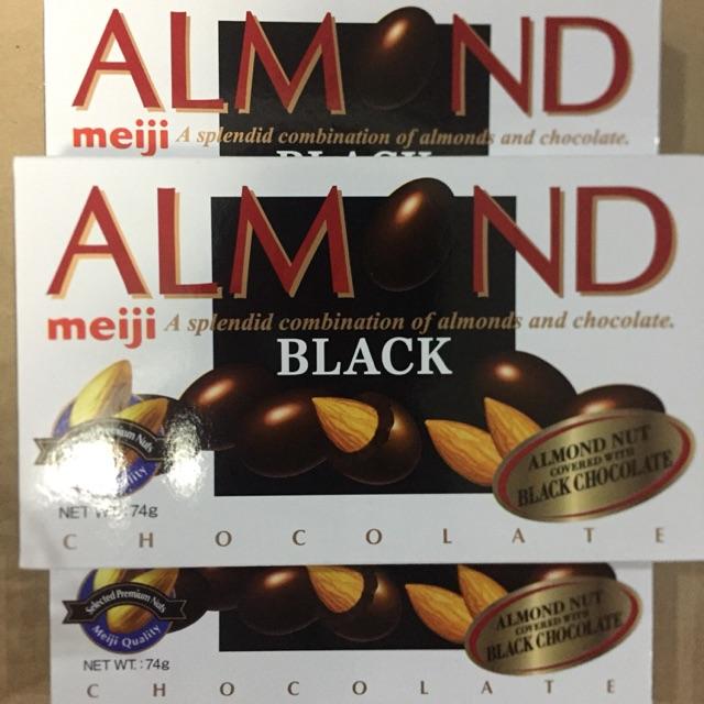 Meiji Almonds Black