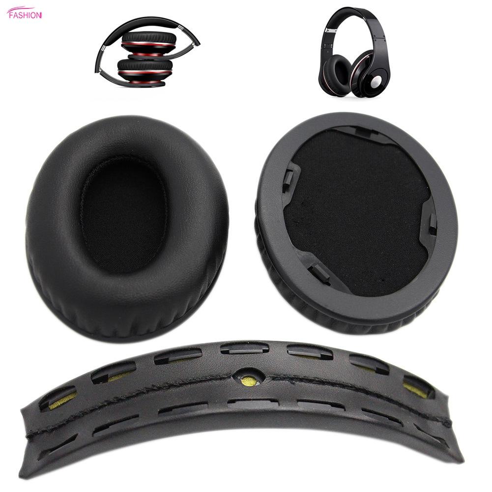 ღღFSMღღReplacement Ear Pads + Headband Cushion for Beats by dr dre Studio  1 0 Headphone
