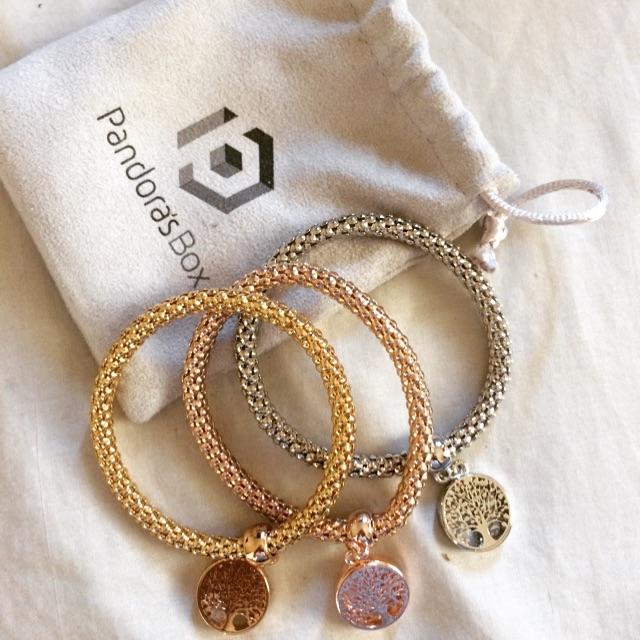 Pandora S Box Bracelet Trio Shopee Philippines