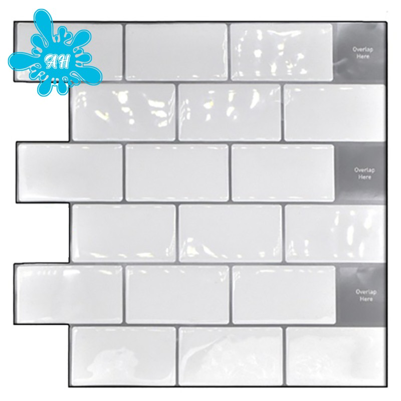 Lifestyle Peel And Stick Tile Backsplash Subway Tile For Kitchen Bathroom Laundry Room Removable 3d Subway Wall Tile 5pcs Shopee Philippines