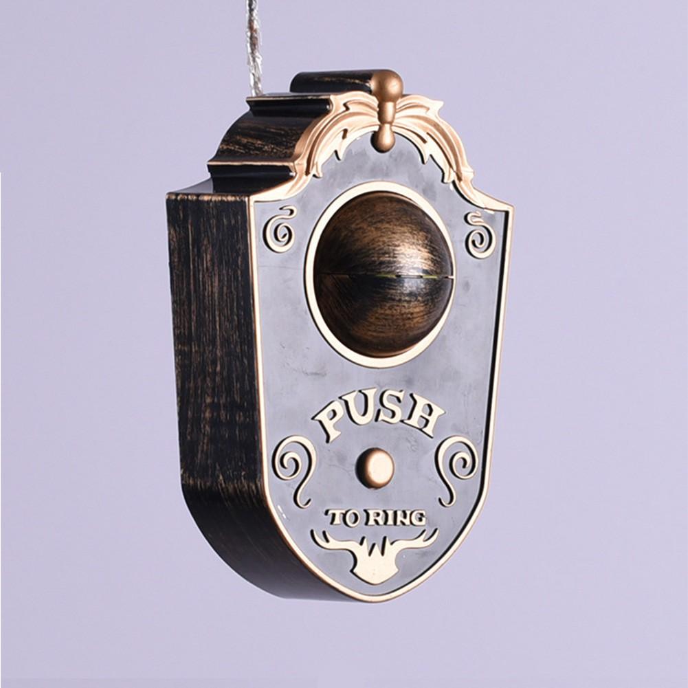 Animated Eyeball Halloween Doorbell Decorations Light Up Talking Eyeball Doorbell