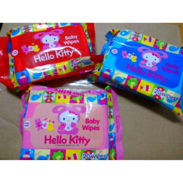 a2ea7fb11906 Hello kitty and nivea baby wipes