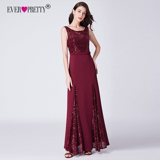 exclusive shoes designer fashion vivid and great in style Elegant Long Sequins Formal Evening Gowns Party Dress 7401