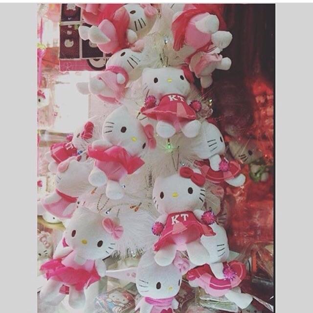 Hello Kitty Christmas Tree.Hello Kitty Christmas Tree