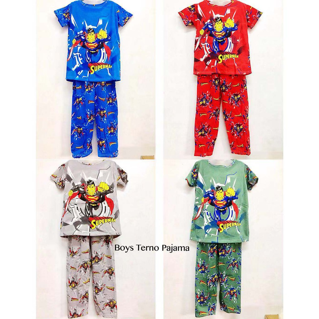 6f87795a1 ️CLEARANCE SALE‼ Character Pajama Sets for BOYS (3-4 y.o ...